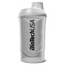 Шейкер BioTech Wave, 600 мл - белый