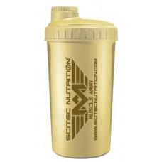 Шейкер Scitec Muscle Army, 700 мл - светло желтый