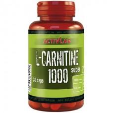Activlab L-Carnitine 1000 Super, 30 капсул