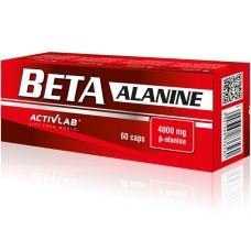Activlab Beta Alanine, 60 капсул