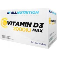 AllNutrition Vit D3 2000, 60 капсул