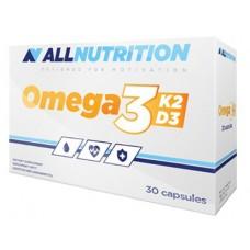 AllNutrition Vit Omega 3+D3+K2, 30 капсул