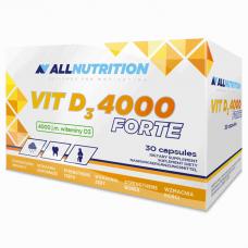 AllNutrition Vit D3 4000 Forte, 30 капсул