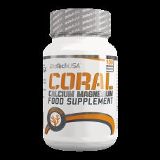 BioTech Coral Calcium Magnesium, 100 таблеток