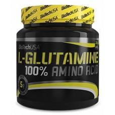 BioTech 100% L-Glutamine, 240 грамм