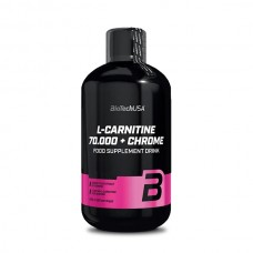 BioTech L-Carnitine 70 000 + Chrome, 500 мл
