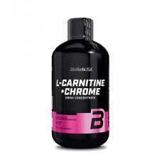 BioTech L-Carnitine + Chrome, 500 мл
