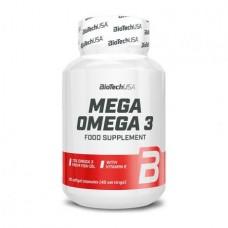 BioTech Mega Omega 3, 90 капсул