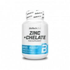 BioTech Zinc + Chelate, 60 таблеток