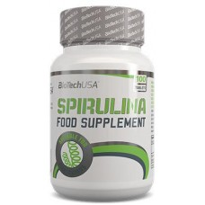 BioTech Spirulina, 100 таблеток