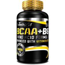 BioTech BCAA + B6, 100 таблеток