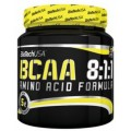 BioTech 100% BCAA 8:1:1 unflavored, 300 грамм