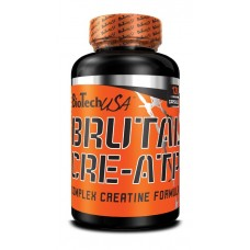 BioTech Brutal CRE-ATP, 120 капсул