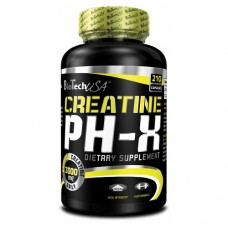 BioTech Creatine pHX, 210 капсул