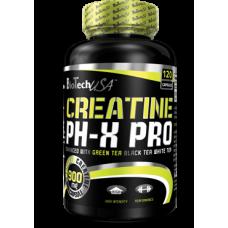 BioTech Creatine pHX Pro, 120 капсул