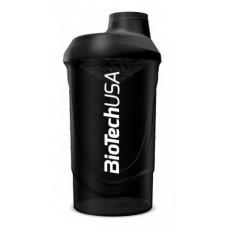 Шейкер BioTech Wave, 600 мл - черный