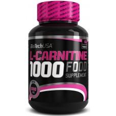 BioTech L-Carnitine 1000 мг, 60 таблеток
