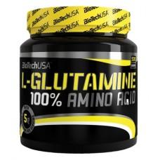 BioTech 100% L-Glutamine, 500 грамм