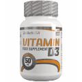 BioTech Vitamin D3, 60 таблеток
