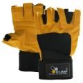 Перчатки мужские Olimp Hardcore Raptor Yellow