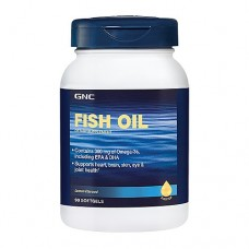GNC Fish Oil, 90 капсул