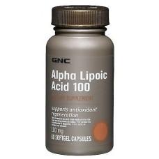 GNC Alpha-Lipoic Acid, 60 капсул