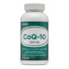 GNC COQ-10 200 MG, 30 капсул