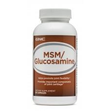 GNC MSM/Glucosamine, 90 капсул