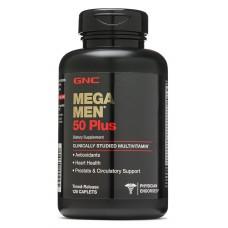 GNC Mega Men 50 Plus, 120 каплет