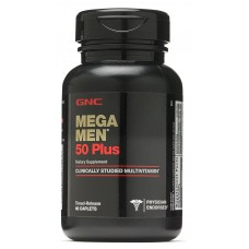 GNC Mega Men 50 Plus, 60 каплет