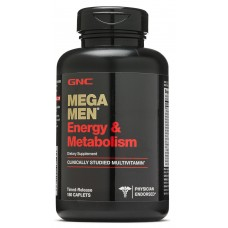 GNC Mega Men Energy & Metabolism, 180 каплет