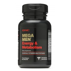 GNC Mega Men Energy & Metabolism, 90 каплет