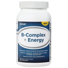 GNC B-Complex + Energy, 120 капсул