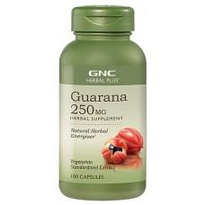 GNC Guarana, 100 капсул