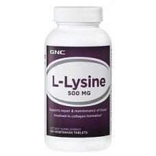 GNC L-Lysine 500, 100 таблеток