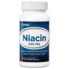 GNC Niacin 250, 100 таблеток