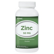 GNC ZINC 50, 250 таблеток