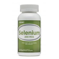 GNC Selenium 200 mcg, 200 таблеток