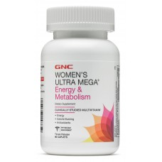 GNC Womens Ultra Mega Energy & Metabolism, 90 каплет