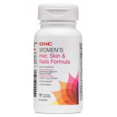 GNC Womens Hair, Skin & Nails Formula, 60 каплет