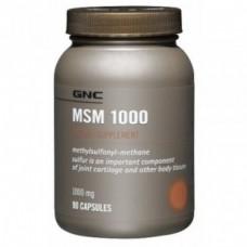 GNC MSM 1000, 90 капсул