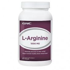 GNC L-Arginine 1000, 90 капсул