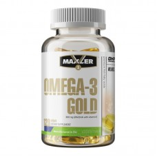 Maxler Omega-3 Gold, 120 капсул