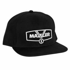 Кепка Maxler - черная с серебряным логотипом