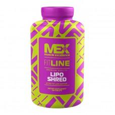 Mex Nutrition Lipo Shred, 120 таблеток