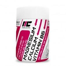 Muscle Care Magn+Calc+VitB6, 90 таблеток