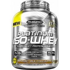 Muscletech Platinum 100% Iso-Whey, 1.5 кг
