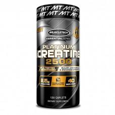 Muscletech Essential Platinum 100% Creatine 2500, 120 каплет СРОК 08.21