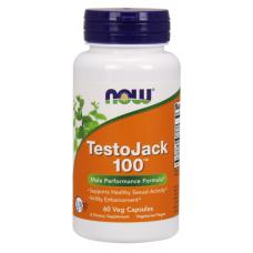 NOW TestoJack 100, 120 капсул