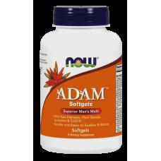 NOW Adam, 180 гелевых капсул
